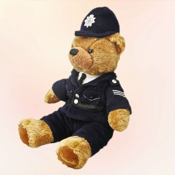 stuffed police bear