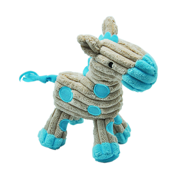 Corduroy Horse Stuffed Toy