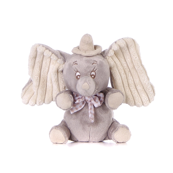 Grey Stuffed Elephant With Big Ear