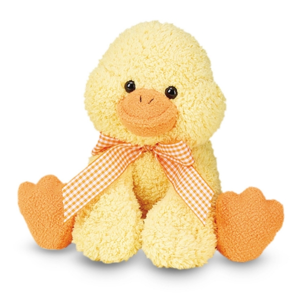 Plush Yellow Duck Toy