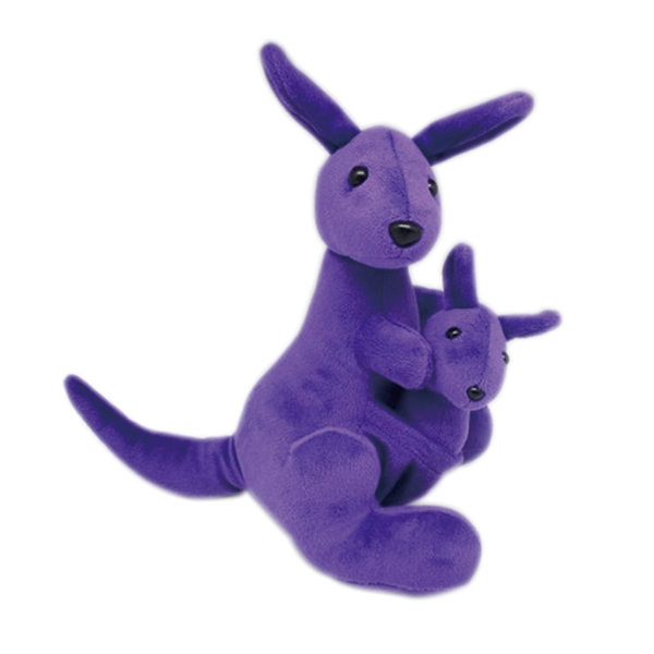 Purple Kangaroo Plush Toy