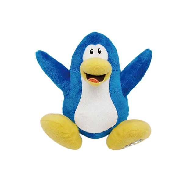 Stuffed Blue Penguin