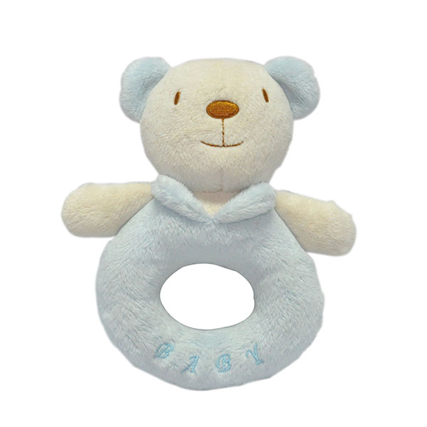 Bear Baby Rattle Toy