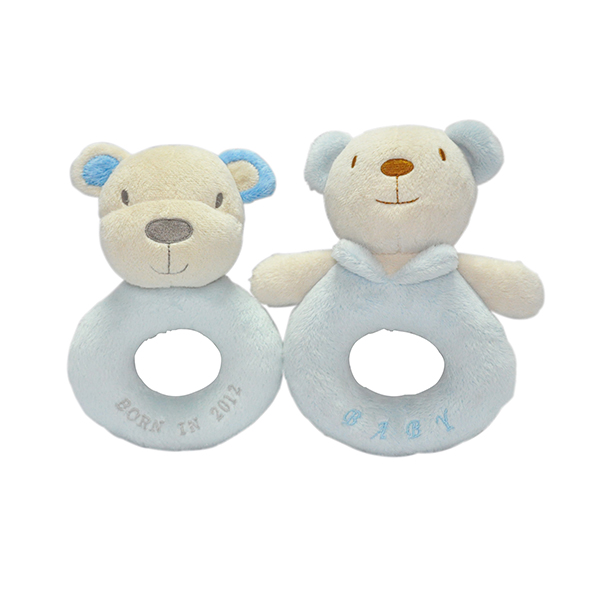 Bear Baby Rattle Toys