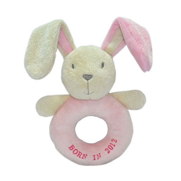 Long Ear Bunny Rattle Toy...