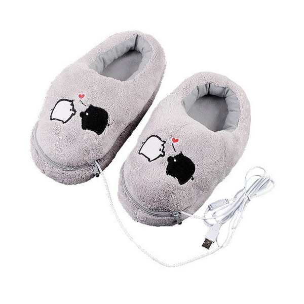 USB Warm Plush Slipper