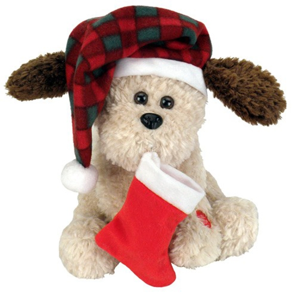 Christmas Dog Toys With Hat