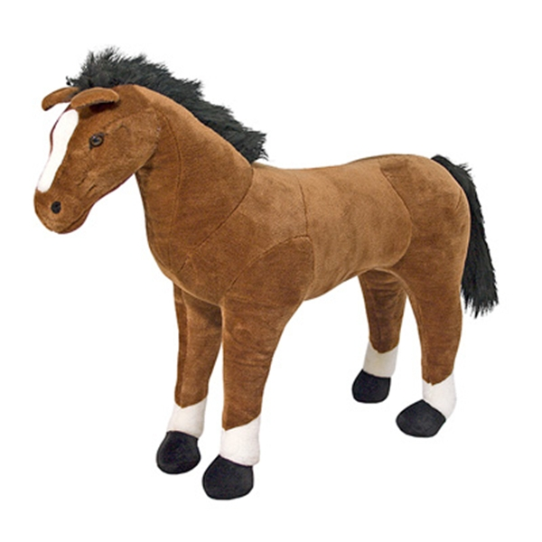 Standing Horse Stuffed Toy
