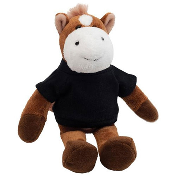Stuffed Plush Horse With T-shirt