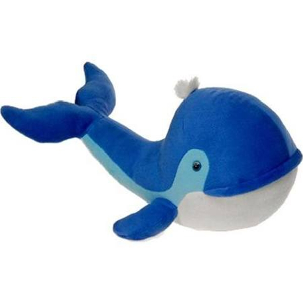 Blue Plush Dolphin