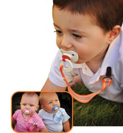 Correct size of dummy holder pacifer clip