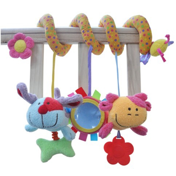 Activity Sprial Baby Crib Toys