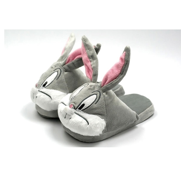 Bunny Plush Slippers Shoes